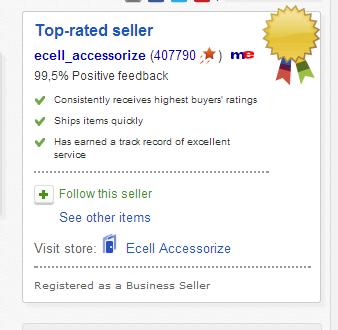 Рейтинг на eBay